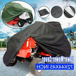"""71"""" Waterproof Riding Lawn Mower Tractor Cover Outside Garde"""