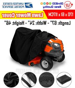Deluxe Riding Lawn Mower Tractor Cover Yard Garden Weather U