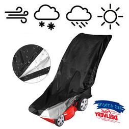 Lawn Mower Cover Heavy Duty Polyester Waterproof, UV Protect