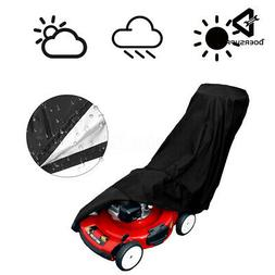 Lawn Mower Cover Waterproof Weather UV Protector for Push Mo