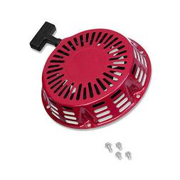 New Pull Starter Red Recoil Cover Fits Honda GX340 11HP & GX