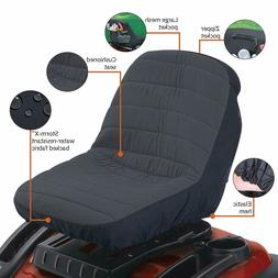 Storm Shield Fabric Seat Cover For Lawn Mower Tractor Access