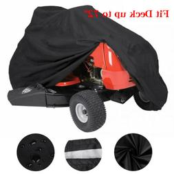 """Fit Deck up to 72"""" Riding Lawn Mower Tractor Cover Garden He"""